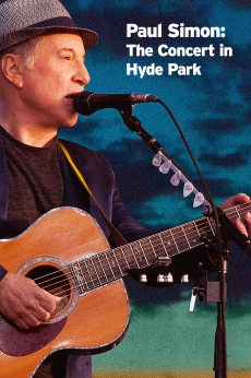 Paul Simon : The Concert in Hyde Park: show-poster2x3