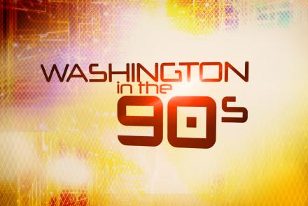 Washington in the 90s Title Treatment