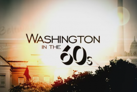 Washington in the 60s Title Treatment