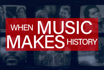 When Music Makes History title treatment