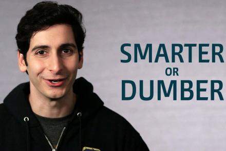 One Word or Less: Is Technology Making Us Smarter or Dumber?: asset-mezzanine-16x9