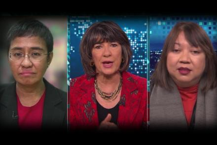 Maria Ressa and Ramona Diaz on Amanpour and Company: asset-mezzanine-16x9